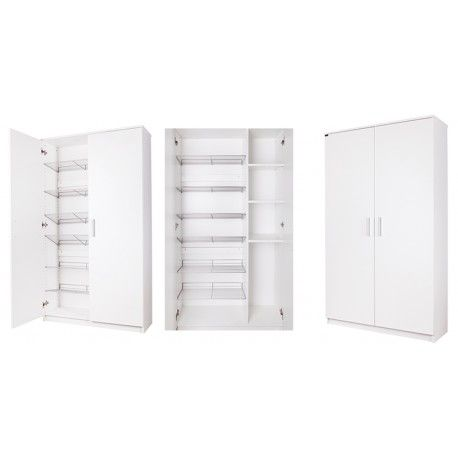 VERA szafa-szafka na buty. Vera our Shoe Cabinet (Shoe Storage) can fit up to 26 pair on its metals shelving. Durable and comes in 200+ different colors/finish.