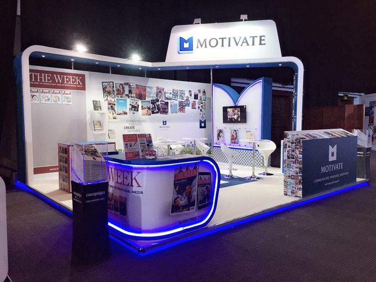 Best Exhibition Stand Design : Motivate exhibition stand design best