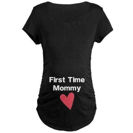 Cute First Time Mommy Maternity T-Shirt