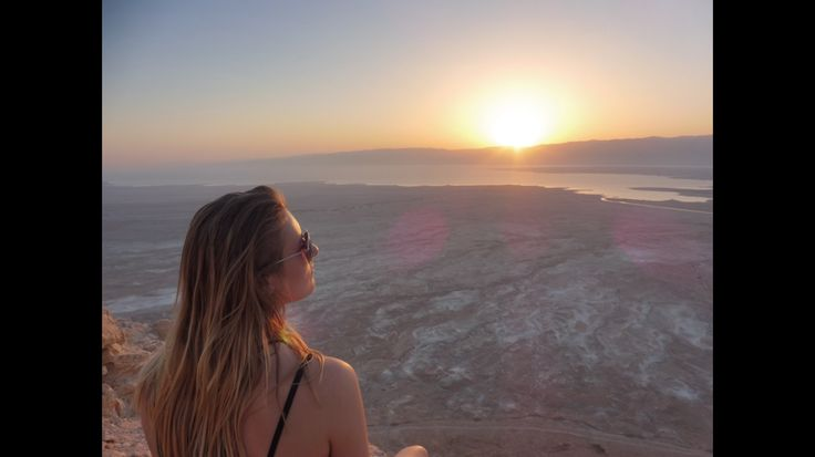First step to making Aliyah, or the holy act of emigration to the land of Zion. My trip to Israel was so fulfilling and empowering, and I learned so much! #israel #deadsea #jewish