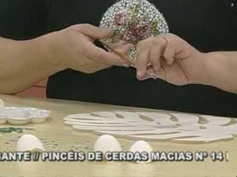 ARTE BRASIL -- ANDRÉIA GOMES -- MOSAICO COM CASCA DE OVO (17/02/2011 - P...