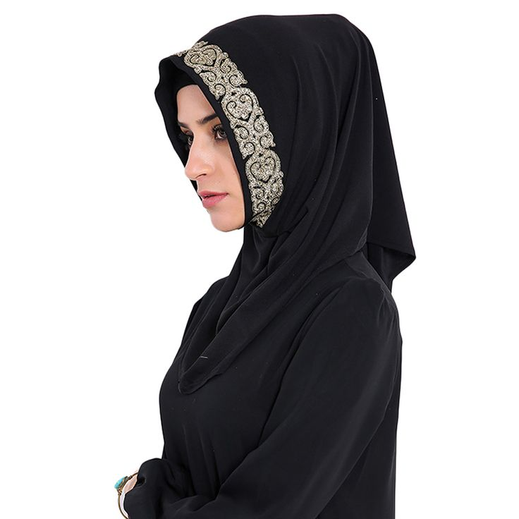 Babalet Womens' Modest Muslim Long Hijab Scarf Modal Full Cover Gold Glitter Islamic Neck Cover Caps Ready to Wear Arab Headwear #Ready to wear     We are a manufacturer dedicated to the production of muslim clothing, abaya, muslim gown, muslim swimwear, hijab etc.         We have our own brand of Babalet® in US. We promise all of our products have real photos so that you can have a real feeling of the...