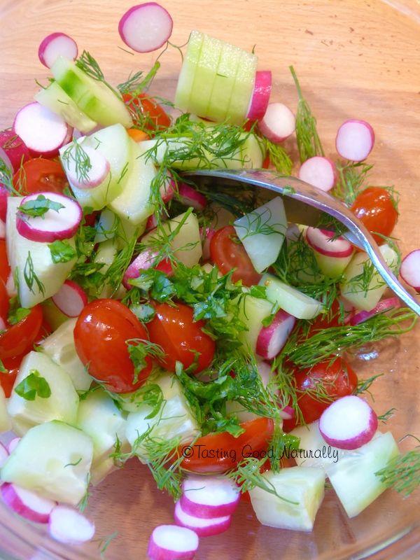 Salade de pommes de terre à la vinaigrette au Miso et au citron #vegan