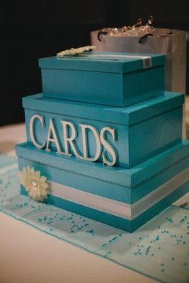 147 Best Wedding Cake Card Boxes Images On Pinterest