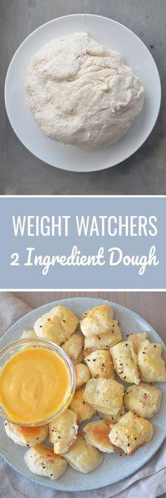 Weight Watchers 2 Ingredient Dough - Recipe Diaries #pizza #dough #weightwatchers #pretzels