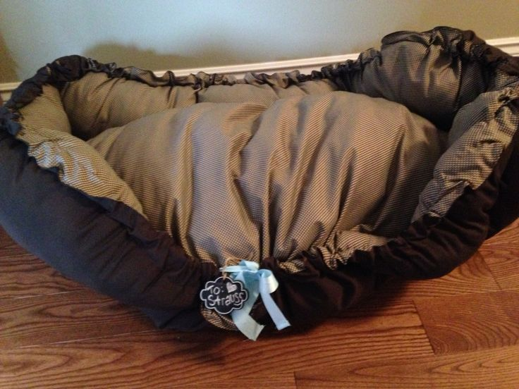 Charming pet bed to share