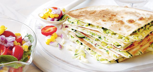 This vegetarian dish is a quick and easy midweek winner for lunch or dinner…