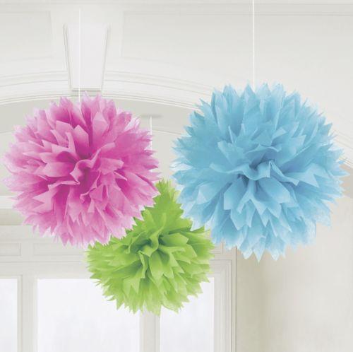 Einflußreiche Farben Und Dekoration: PARTY-DEKO-BUNT-LATERNE-FACHER-GIRLANDE-BLUME-LAMPION