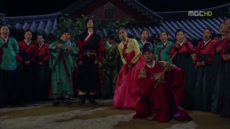 episode 19. yeon woo and hwon playing