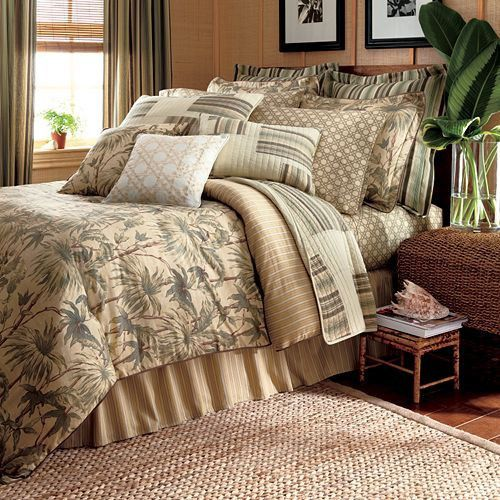 Chaps By Ralph Lauren Palmetto Full Comforter 4pc Set Palm