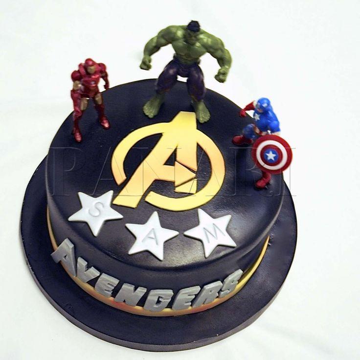 avenger cake | AVENGERS CAKE SP4624