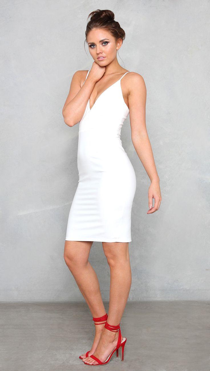 Luvalot - Betty Dress - White