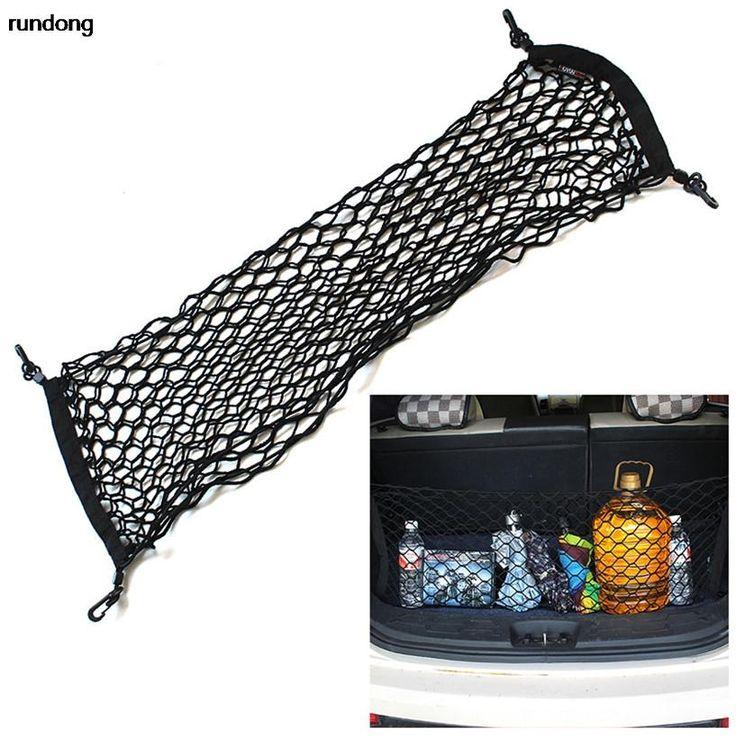 [Visit to Buy] Flexible Nylon Car Rear Cargo Trunk Storage Organizer Net Envelop #Advertisement