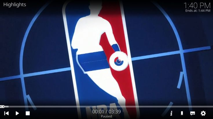 Watch the NBA on Kodi; Official and Third Party Add-ons