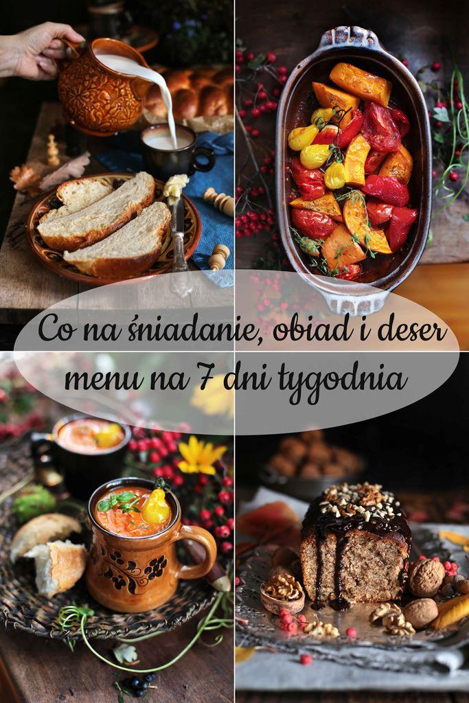 Co Na Sniadanie Obiad I Deser Menu Na 7 Dni Tygodnia Zen W Kuchni Food Breakfast Muffin