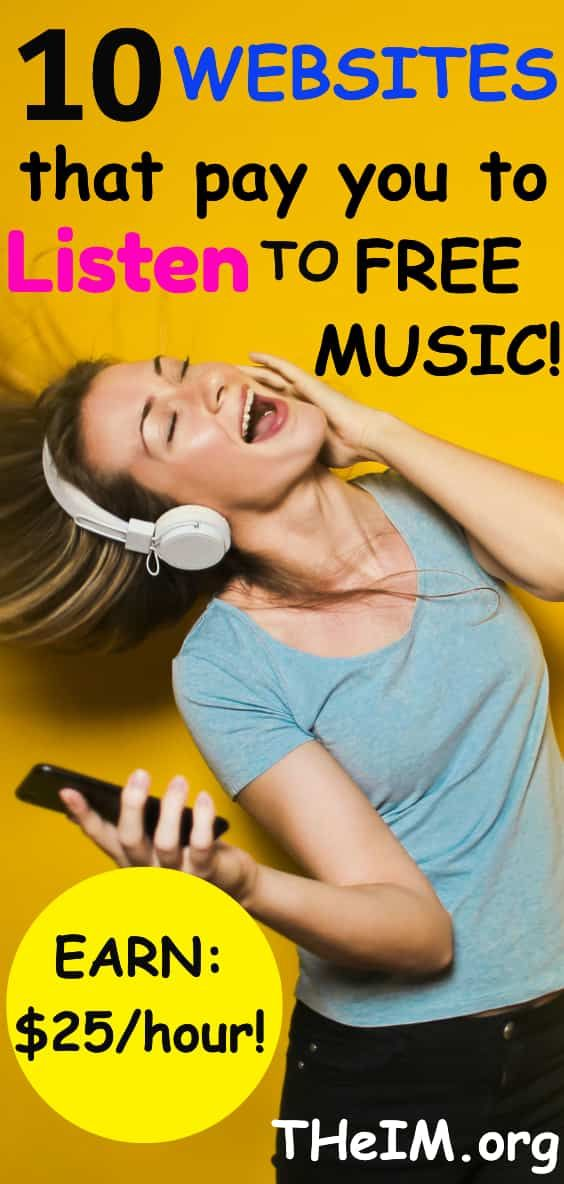 10 Outstanding Websites That Pay You To Listen To free Music! – TheIM blog|Make Money Online | Work From Home Jobs,Survey,Internet Marketing,Blogging tips