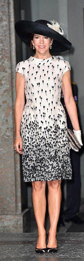 Crown Princess Mary of Denmark - 2016 max Mara black hat