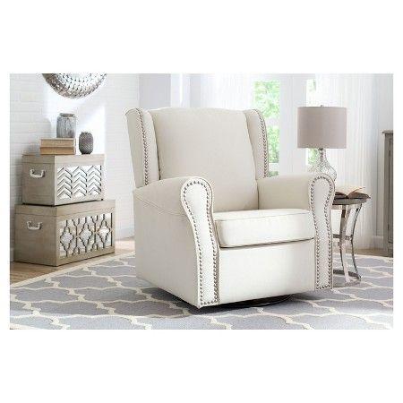 Delta Children Middleton Nursery Glider Swivel Rocker Chair – Blush : Target