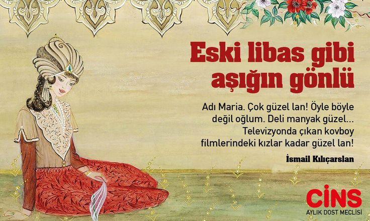 """#GönlünüzünCinsi @kilicarslan_is Cins için öykü yazmaya başladı: """"Eski libas gibi aşığım gönlü"""""""