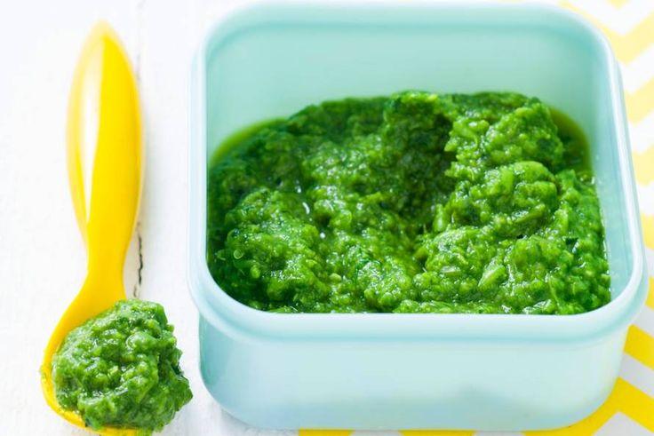 Kijk wat een lekker recept ik heb gevonden op Allerhande! Opperdepop: bloemkool met broccoli 6 mnd