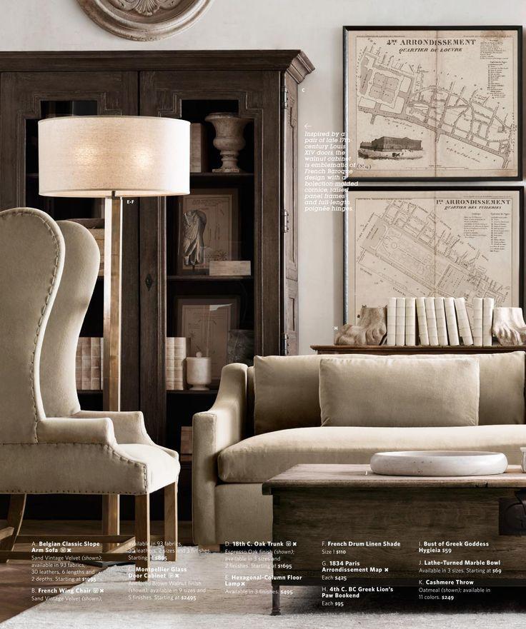 17 best images about restoration hardware on pinterest restoration hardware office. Black Bedroom Furniture Sets. Home Design Ideas