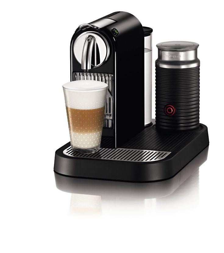 I WANT!!!!! Nespresso Citiz Espresso Maker with Aeroccino Milk Frother