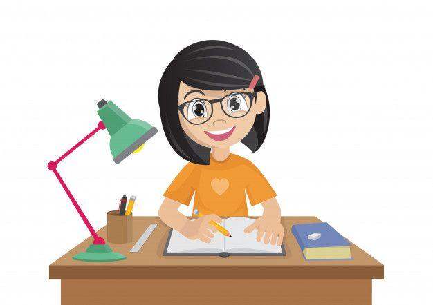 Personaje De Dibujos Animados Chica Hac Premium Vector Freepik Vector Fondo Escuela Personas Dibujos Animados Personajes Dibujos Animados Personajes