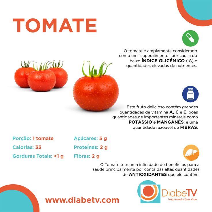Benefícios do tomate para o diabetes!!!  :)