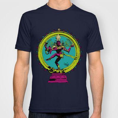 Natraj Dance T-shirt by Vee Ladwa - $22.00