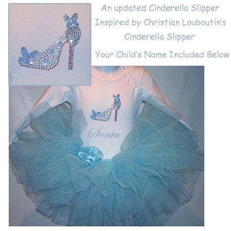 Cinderella Tutu Set Cinderella Birthday by TutuCutiesBoutique