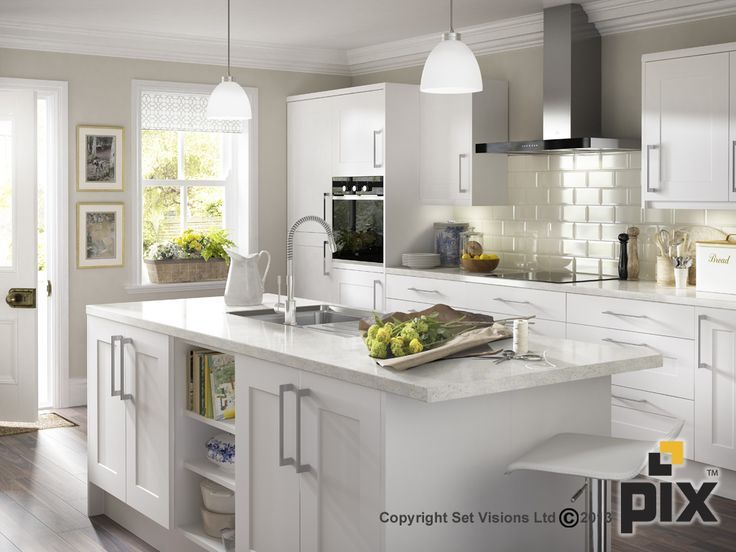 Awesome Heritage Shaker White Cabinets