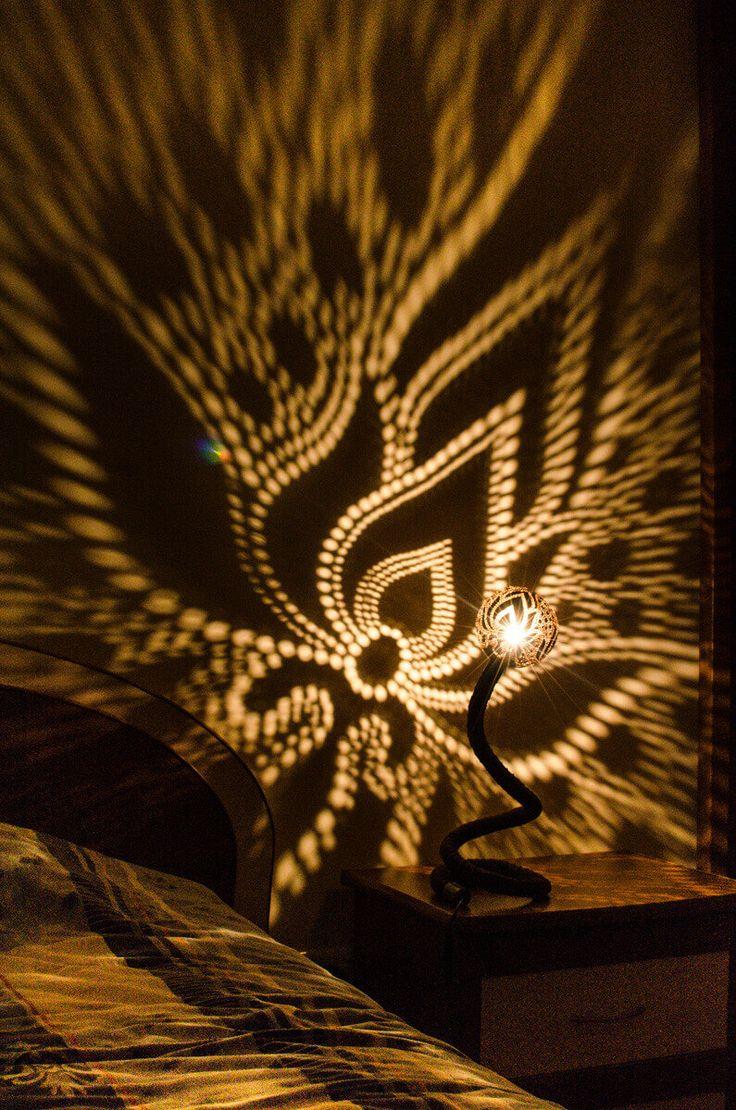 Nimfen Lamp No.1 - kalebas Lamp handgemaakt tabel lampen lampenkap lampenkappen Mid Century lampen hanger licht Fairy lichten kroonluchter verlichting door NymphsWorkshop op Etsy https://www.etsy.com/nl/listing/229798894/nimfen-lamp-no1-kalebas-lamp-handgemaakt