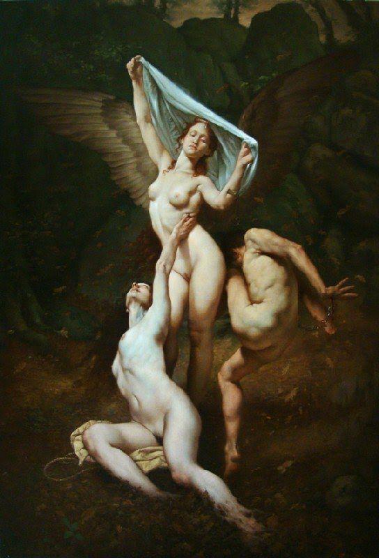 Roberto Ferri pintura barroca simbolista controvertida 13