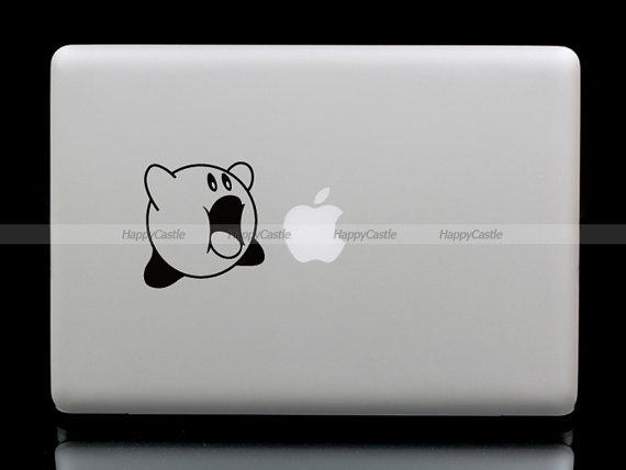 Kirby MacBook Sticker. Brandon likes!