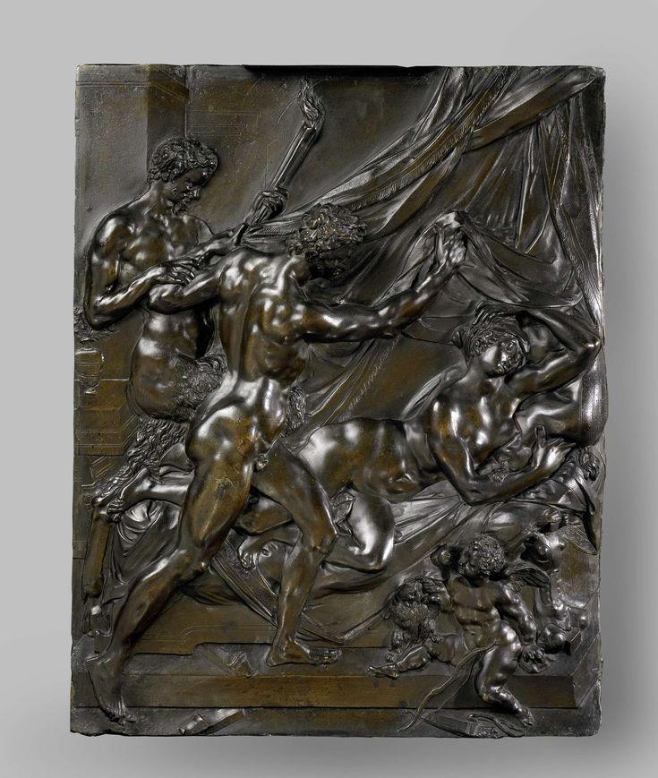 Bacchus vindt Ariadne op Naxos, Adriaen de Vries, ca. 1611