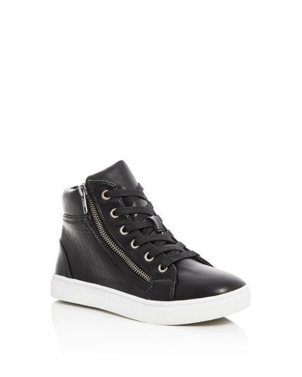 Steve Madden Girls' Jlattee Hight Top Sneakers - Little Kid, ...