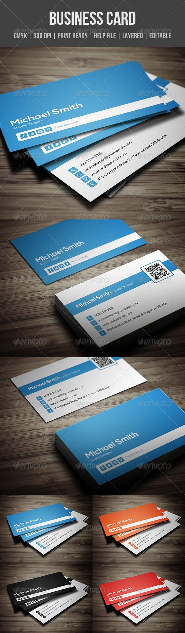105 best print templates images on pinterest creative design personal business card magicingreecefo Choice Image