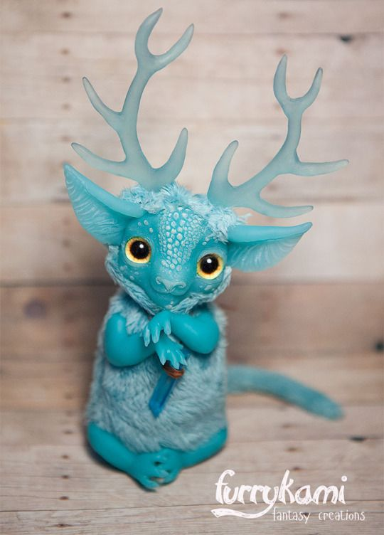 Fantasy | Whimsical | Strange | Mythical | Creative | Creatures | Dolls | Sculptures | ☥ |  Furrykami