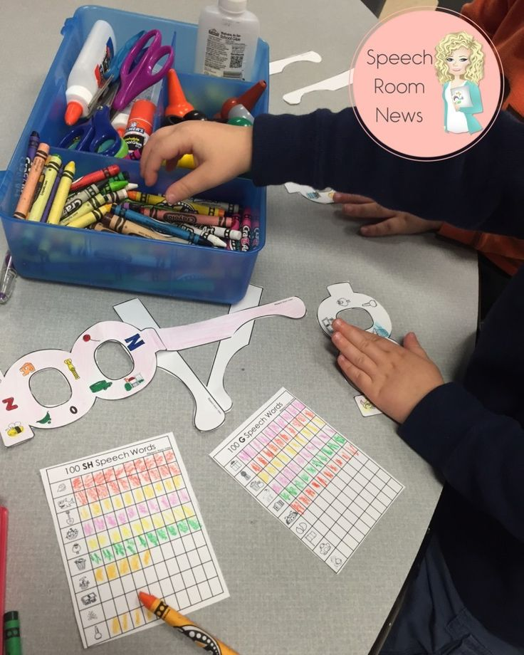 I can count my speech words! Student data collection in preschoolers. - Speech…