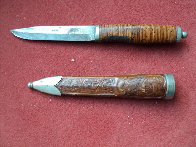 Scandinavian Puukko Knife Swedish Norwegian Finnish Danish