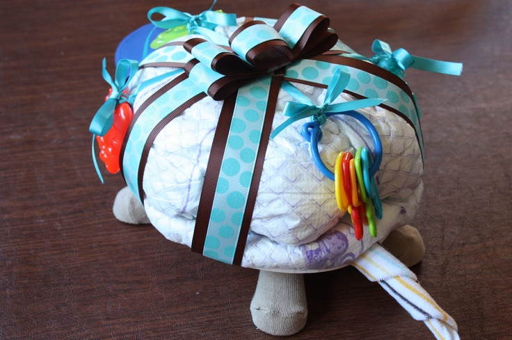 """how to make a diaper cake 