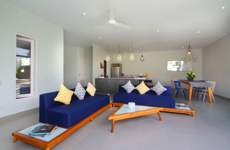 Unik Villa, Brawa Bali, Living Area