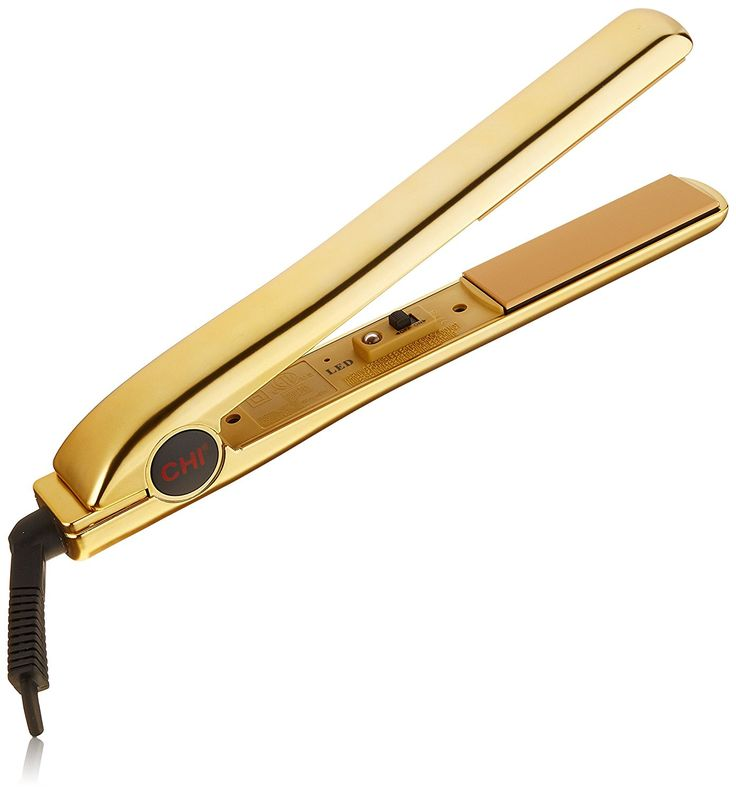 CHI PRO 1 Ceramic Flat Iron in Keratin Gold with Free Gifts - Ionic Tourmaline Hair Straightener -- This is an Amazon Affiliate link. Click on the image for additional details.