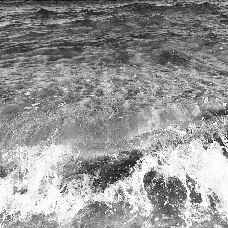 #water #waves #bnw