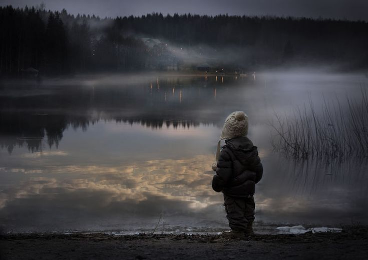 These wonderful photographs by Russian artist Elena Shumilova plunge the viewer into a beautiful world that revolves around her two boys and their animal friends.