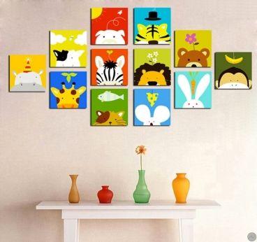 Un tableau enfant disponible chez http://artwall-and-co.com