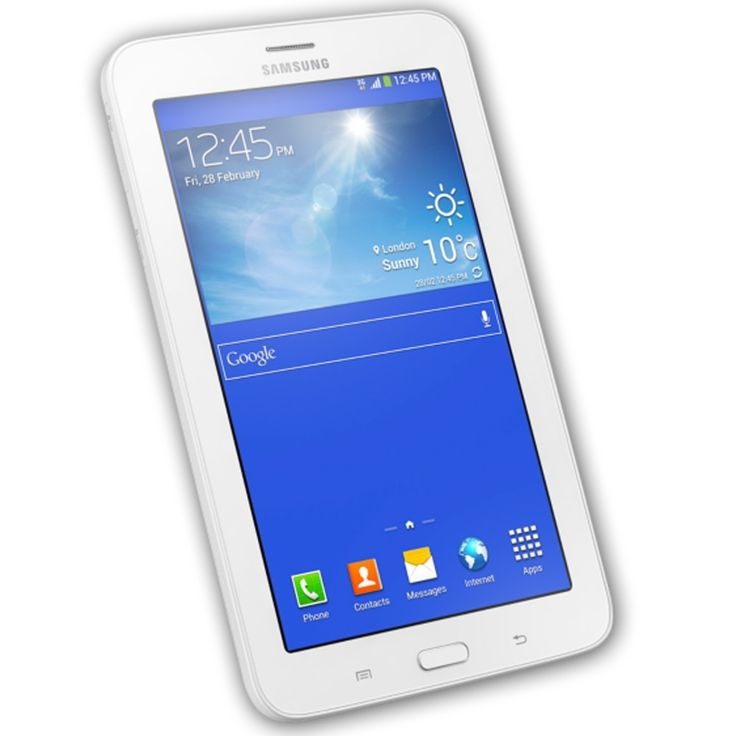 Tablet Samsung Galaxy Tab 3 Celular 3g 7¨ 8gb Wifi Android - $ 3.699,00 en MercadoLibre