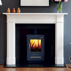 The Devonshire in #limestone is a new addition to Chesney's #contemporary range. It displays handsome proportions and crisp detailing with an elegant downward taper to the pilasters. #Fireplace
