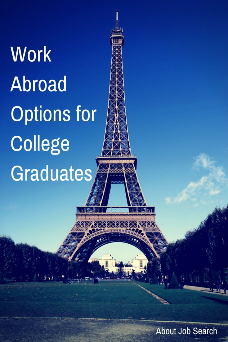 Work Abroad Options for College Graduates: http://jobsearch.about.com/od/collegejobsearch/a/college-grad-jobs-abroad.htm