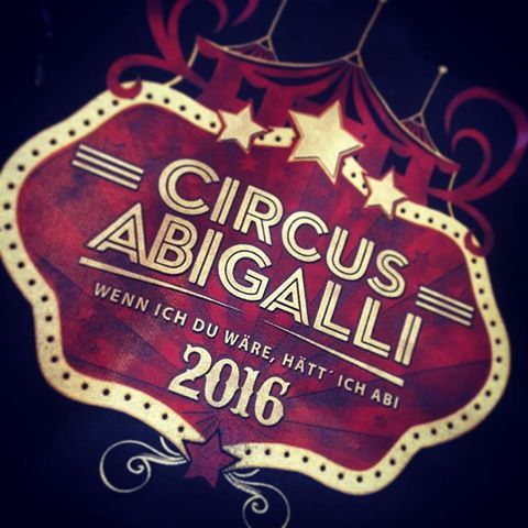 Jetzt kostenlosen Katalog anfordern unter: www.shirts-n-druck.de #circusabigalli #abi16 #abi2016 #abi2017 #abimotto #abishirt #abipulli #shirtsndruck